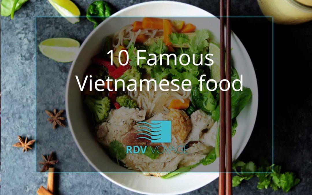 10 Famous Vietnamese food