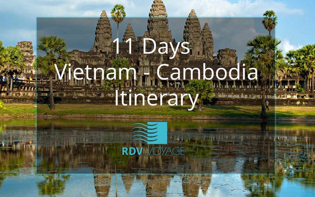 11 Days Vietnam – Cambodia Itinerary